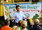 Jindal spoke to a group of about 30 local residents Tuesday at the Nishnabotna Valley REC.  He said if elected president he would work hard to preserve the idea of America and the American dream.